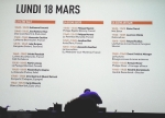 Programme Omnivore World Tour Paris 2013 Lundi